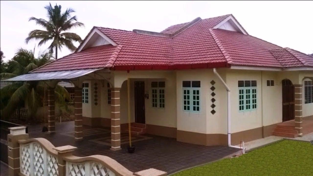 11 Macam Desain Rumah Modern Kampung Terbaik Masa Kini