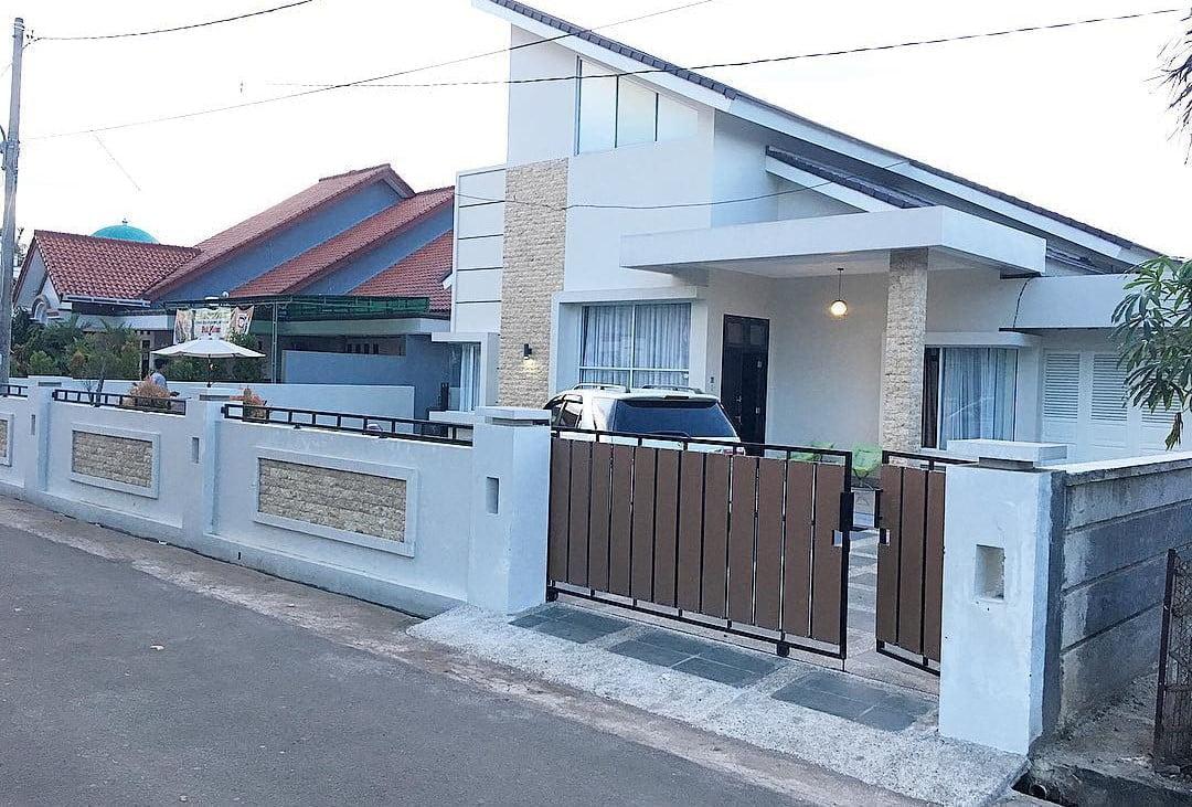 12 Arsitektur Desain Pagar Rumah Minimalis 36 72 Paling ...
