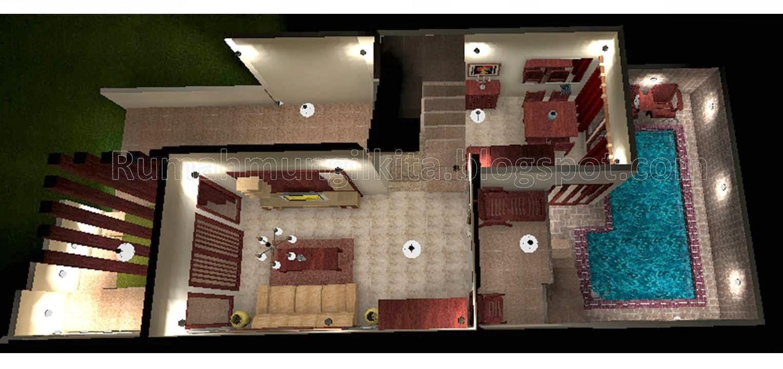 54 Koleksi Desain Rumah Minimalis Ada Kolam Renang HD Terbaik