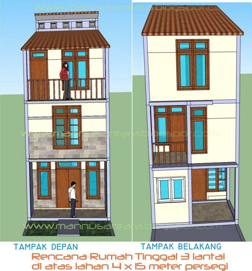 Desain Rumah Minimalis 4X6 2 Lantai Archives - Deagam Design