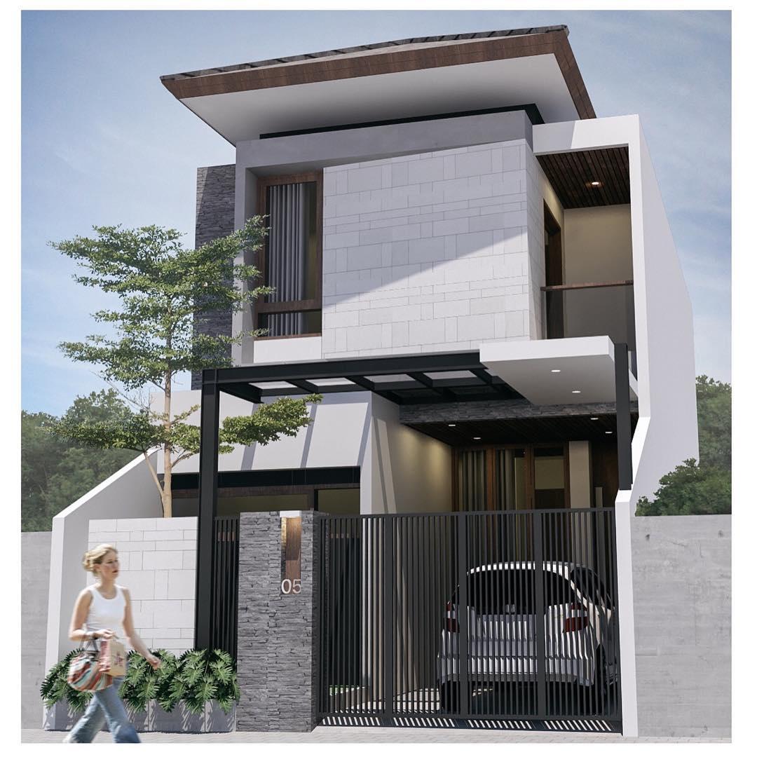 12 Kumpulan Desain Rumah Minimalis Modern 2 Lantai 2019 Terpopuler Yang Harus Kamu Tahu - Deagam Design