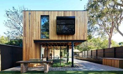 48 contoh desain rumah mewah minimalis kayu istimewa