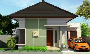 13 Ragam Desain Model Rumah Minimalis Tampak Depan 1 Lantai Kreatif Banget Deh