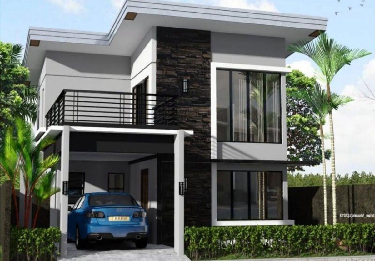 7400 Desain Rumah Minimalis Dua Lantai Gratis