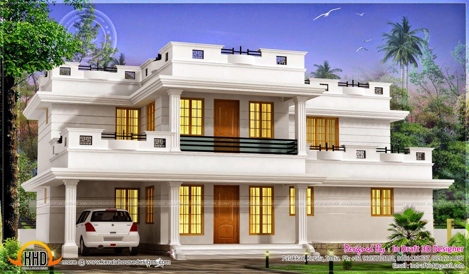 15 Model Desain Atap Rumah Datar Terbaru Dan Terlengkap Deagam Design