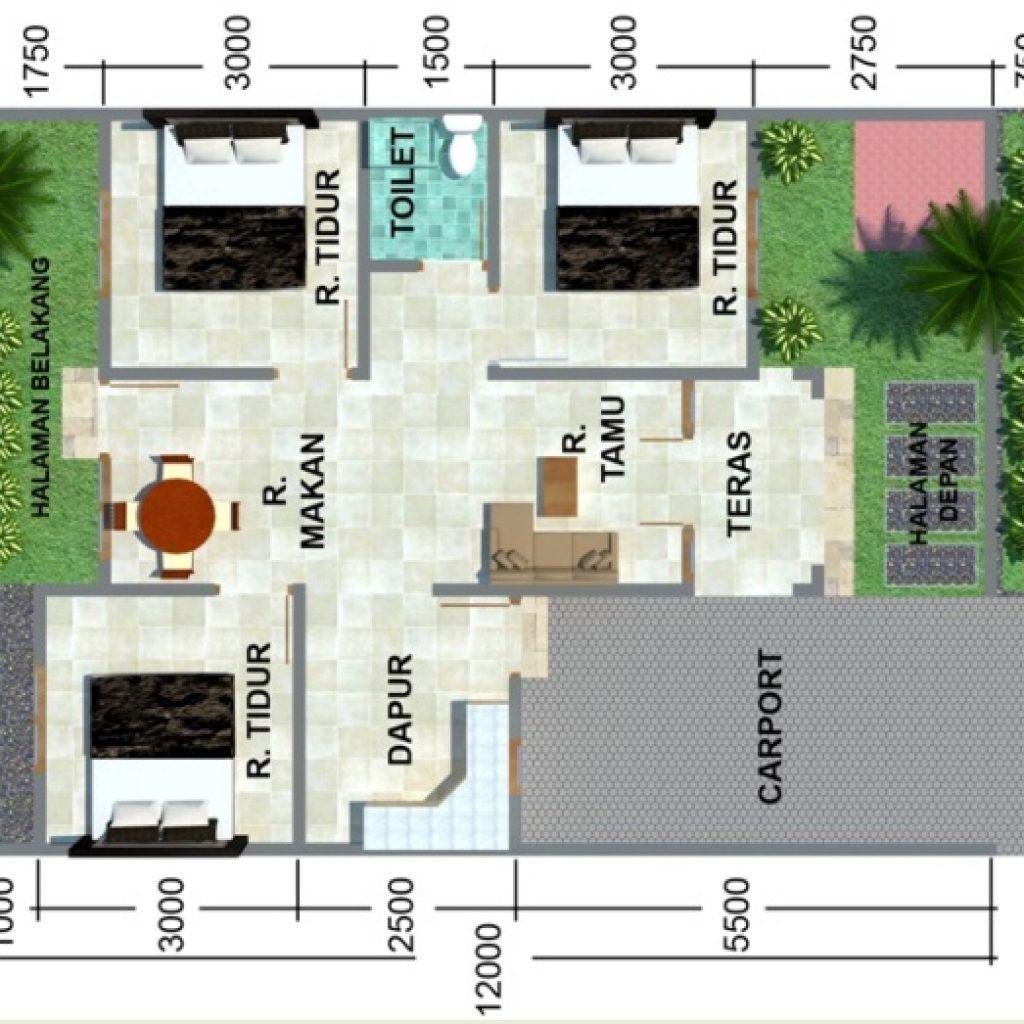 15 Ragam Desain Rumah Minimalis 2 Kamar Type 45 Paling ...