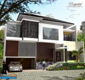 16 model desain rumah minimalis 1 lantai luas tanah 300m2