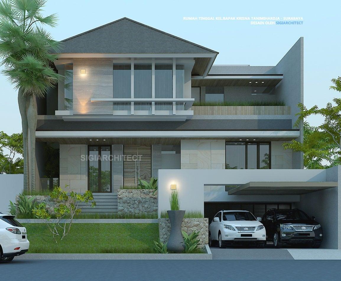 17 Inspirasi Desain Rumah Mewah Modern 3 Lantai Terbaru Dan Terlengkap Deagam Design