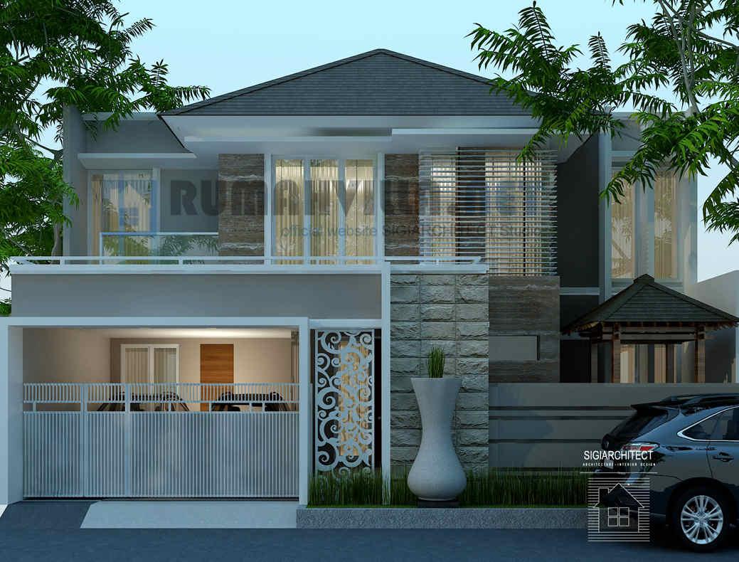 19 Macam Desain Rumah Minimalis Mewah 2 Lantai Terbaik Masa Kini Deagam Design
