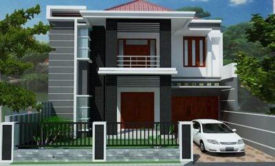 66 macam desain rumah minimalis sederhana type 45 2 lantai