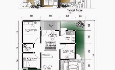 21 ragam desain rumah minimalis 2019 3 kamar istimewa