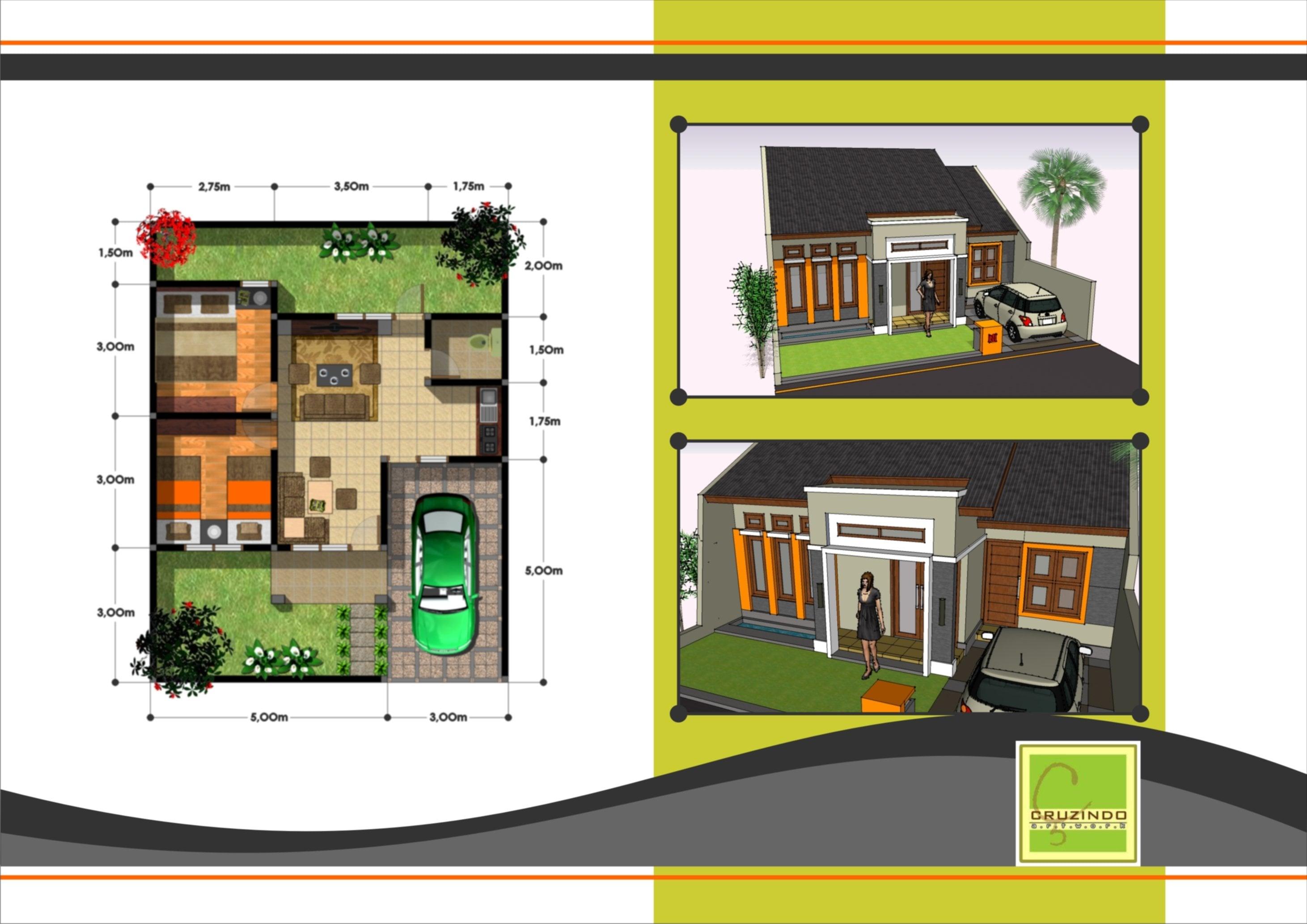 21 Trend Desain Rumah Modern Minimalis 1 Lantai Type 36 Yang Belum Banyak Diketahui Deagam Design