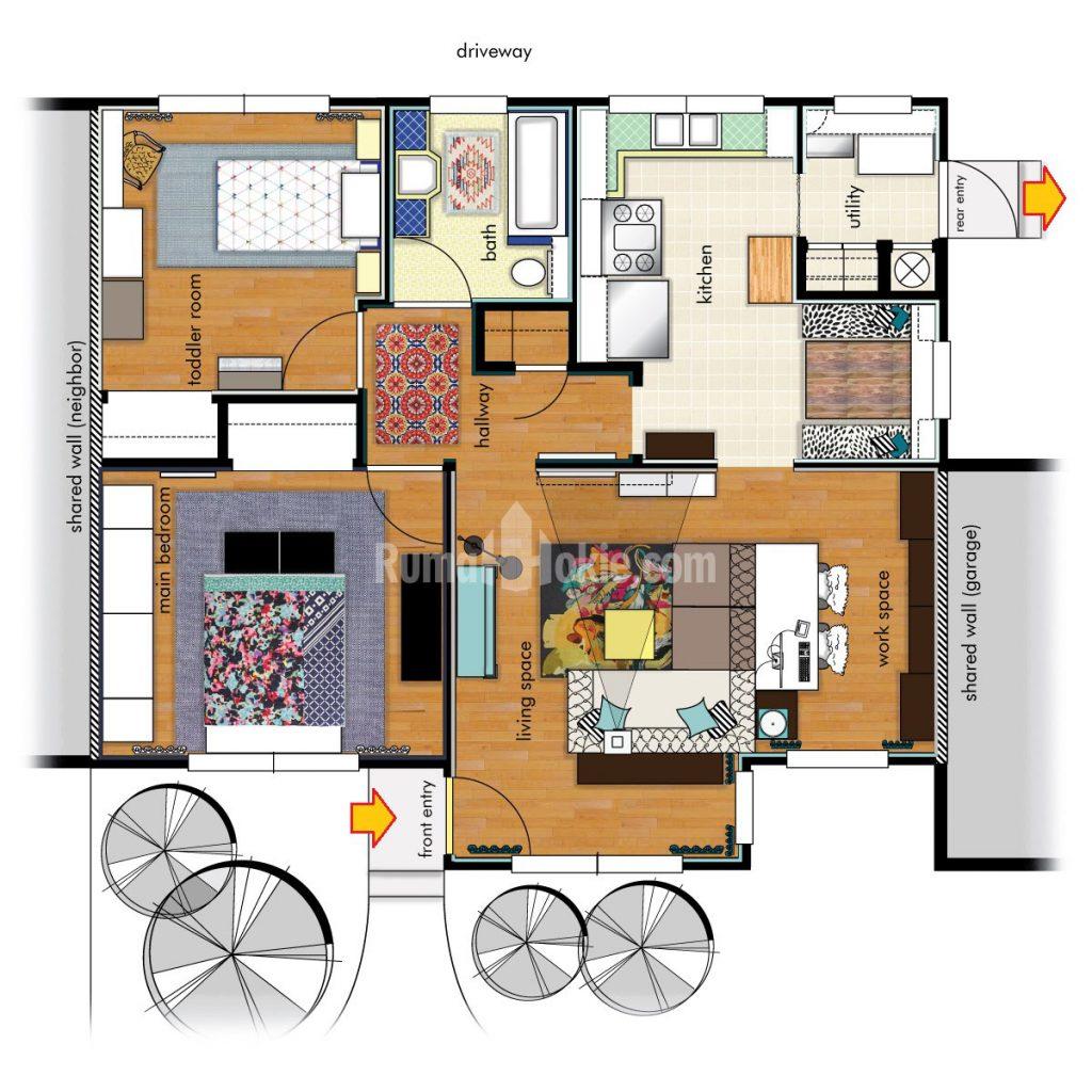 22 Foto Desain Rumah Minimalis Menurut Feng Shui Yang Wajib Kamu Ketahui Deagam Design