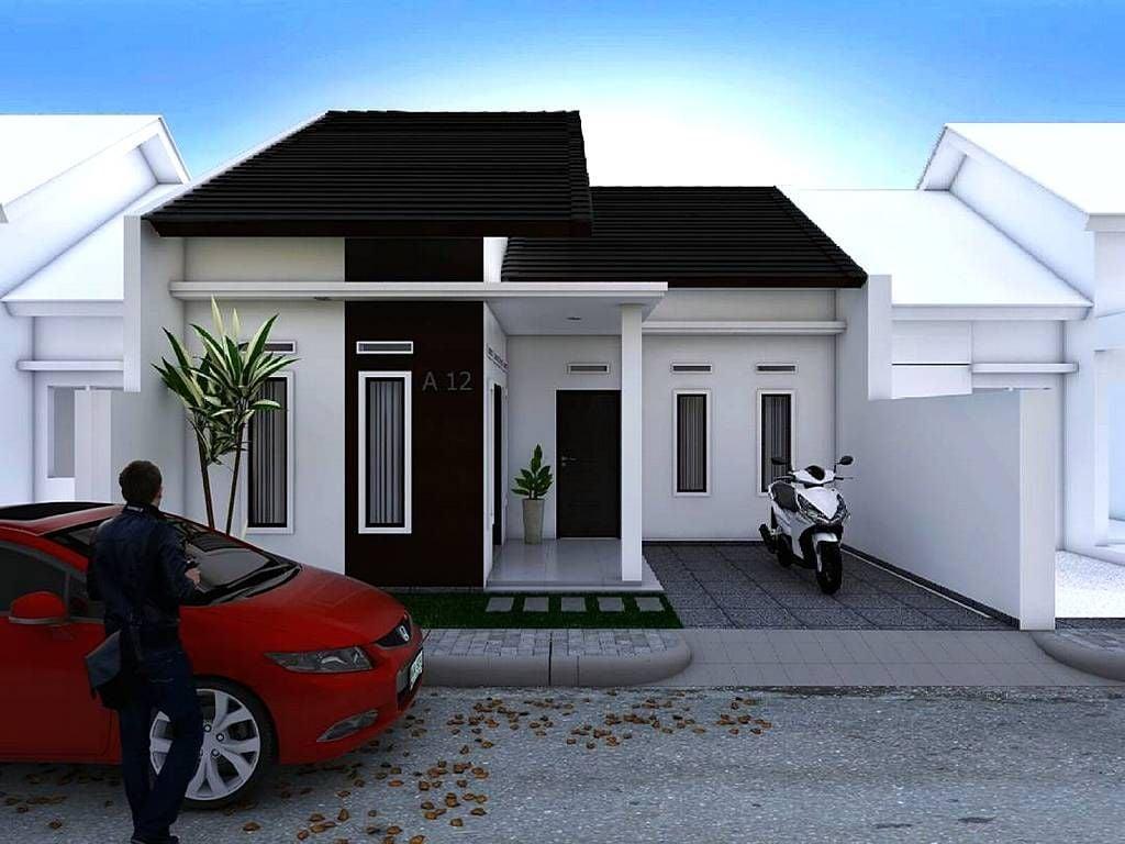 26 Contoh Desain Model Rumah Minimalis Modern Terbaru 1 Lantai Kreatif Banget Deh
