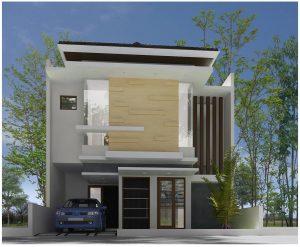28 model desain interior rumah 2 lantai minimalis tampak