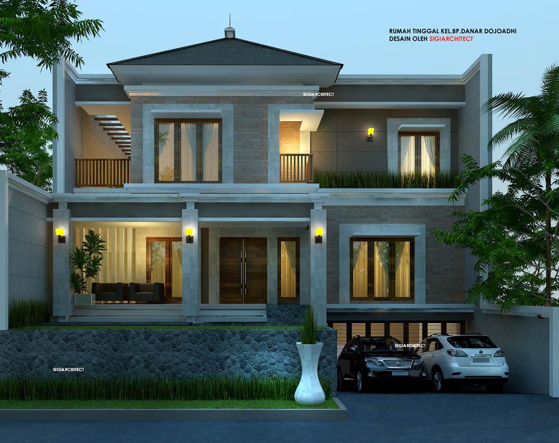28 Model Desain Rumah Minimalis Sederhana Lantai 2 Tahun 2020 Paling Banyak Di Minati Deagam Design