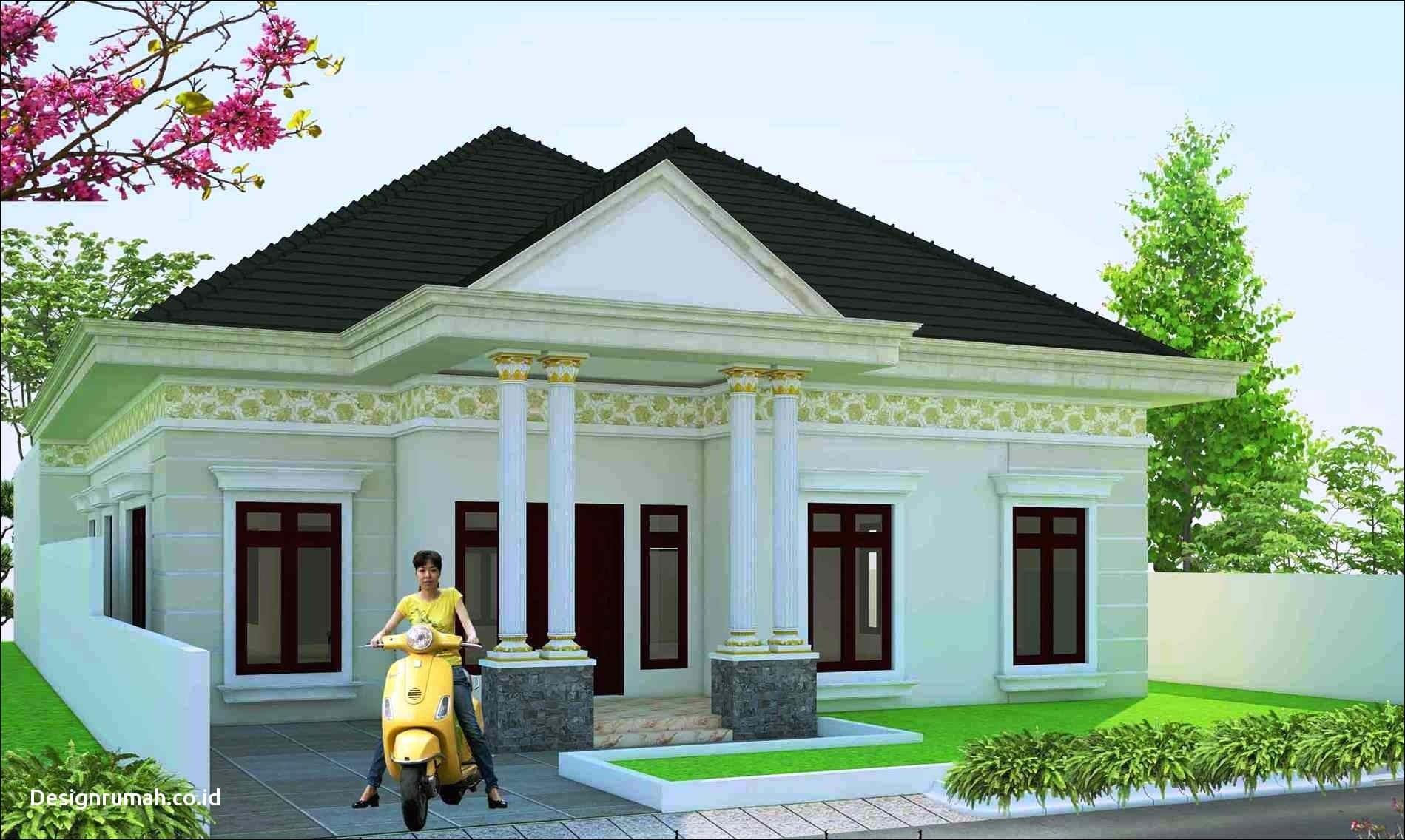 Desain Desain Rumah Klasik 1 Lantai - Deagam Design