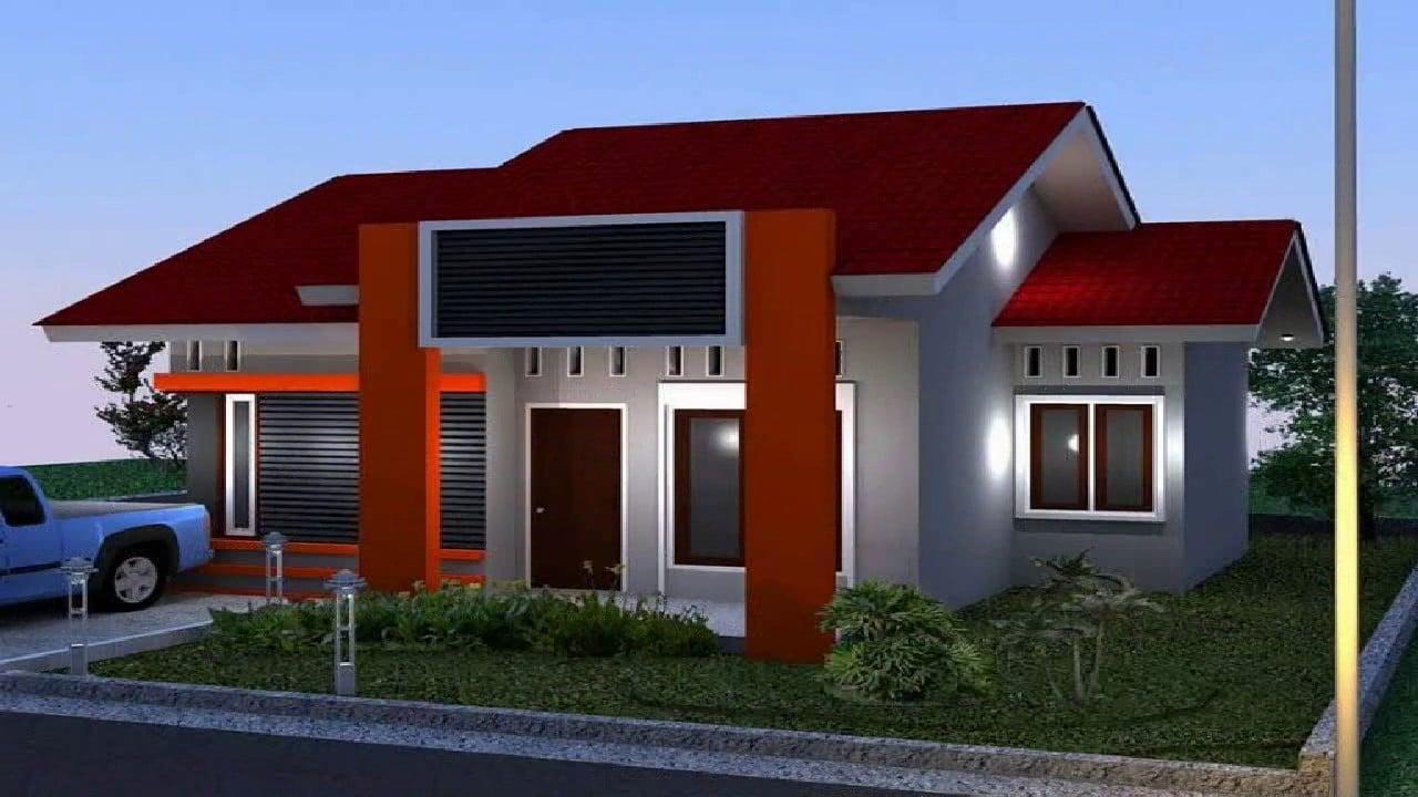 30 Foto Desain Warna Cat Rumah Yang Cantik Paling Banyak ...