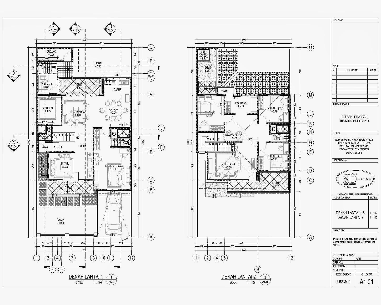30 Macam Desain Bestek Rumah Mewah 2 Lantai Terpopuler Yang Harus Kamu Tahu Deagam Design