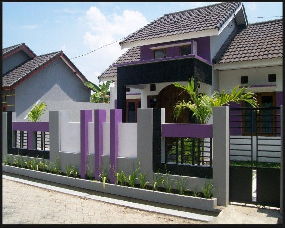 32 Foto Desain Pagar Rumah Mewah Minimalis Kreatif Banget Deh Deagam Design