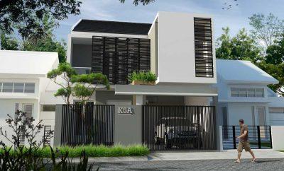 34 Macam Desain Rumah 2 Lantai Idaman Sederhana Minimalis Kreatif Banget Deh