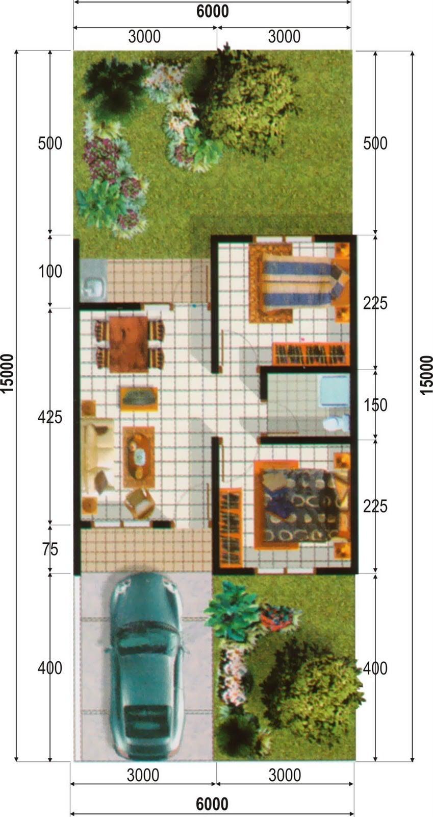 35 Arsitektur Desain Rumah Minimalis Type 36 Luas Tanah 90 ...