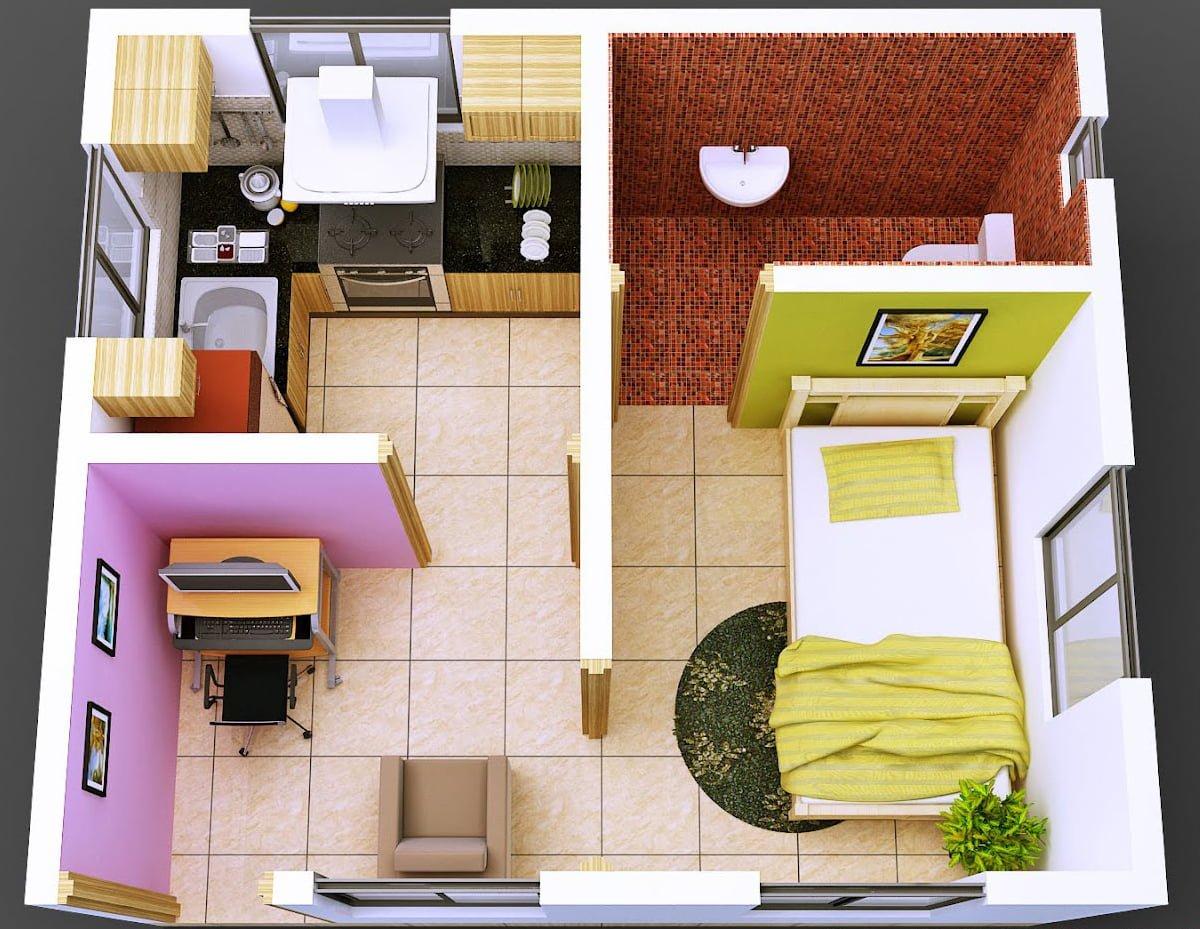 36 Arsitektur Desain Isi Rumah Minimalis Sederhana Paling Terkenal