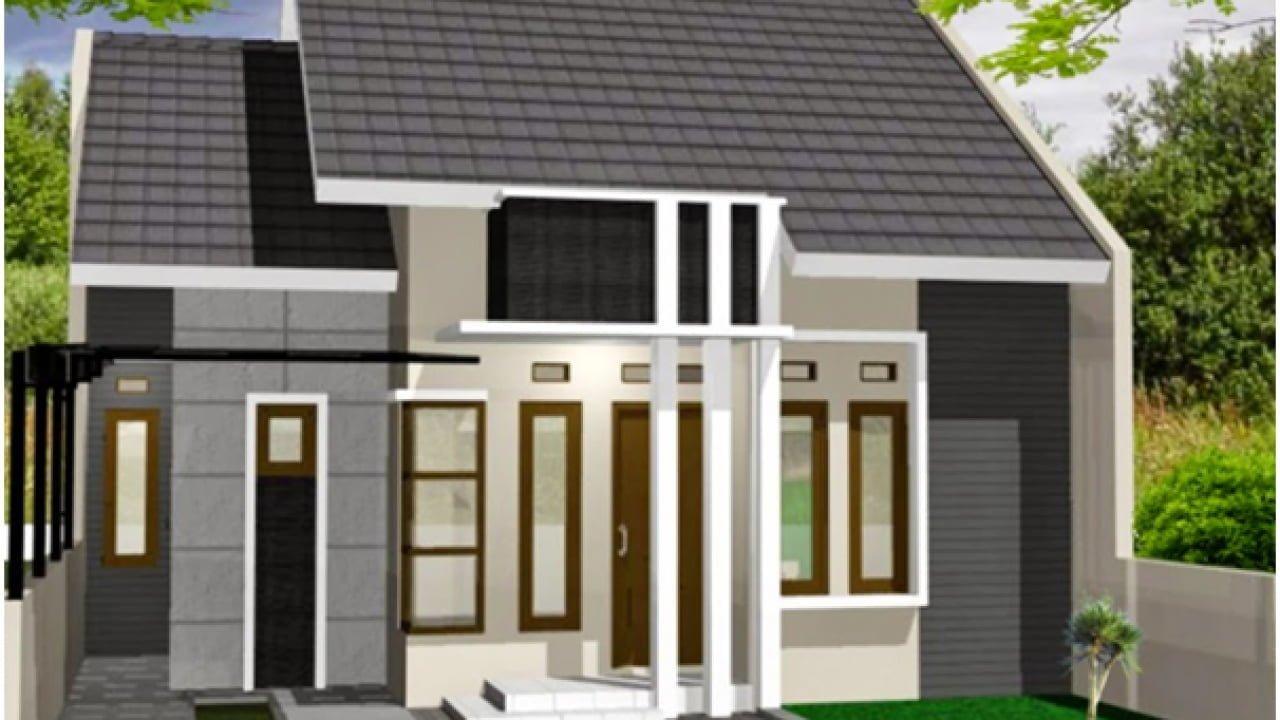 Desain Warna Cat Abu Abu Rumah Minimalis Tampak Depan ...
