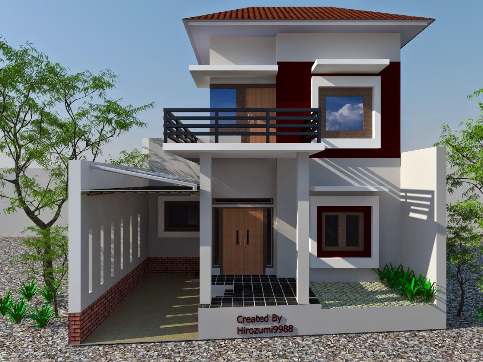 36 Model Desain Rumah Tingkat Paling Banyak di Minati