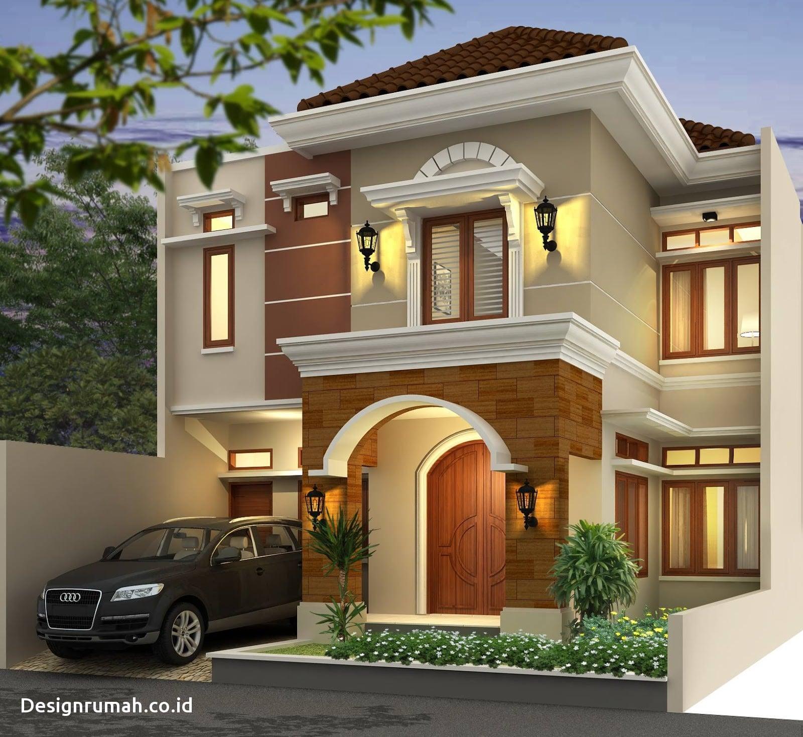 37 Inspirasi Desain Rumah Kampung Modern 2 Tingkat Terbaru dan Terlengkap