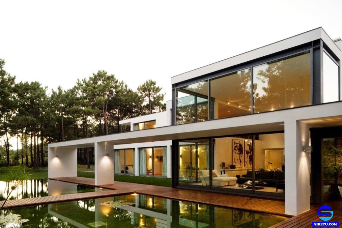 39 Foto Desain Rumah Mewah Minimalis Full Kaca Terbaru Dan Terlengkap -  Deagam Design