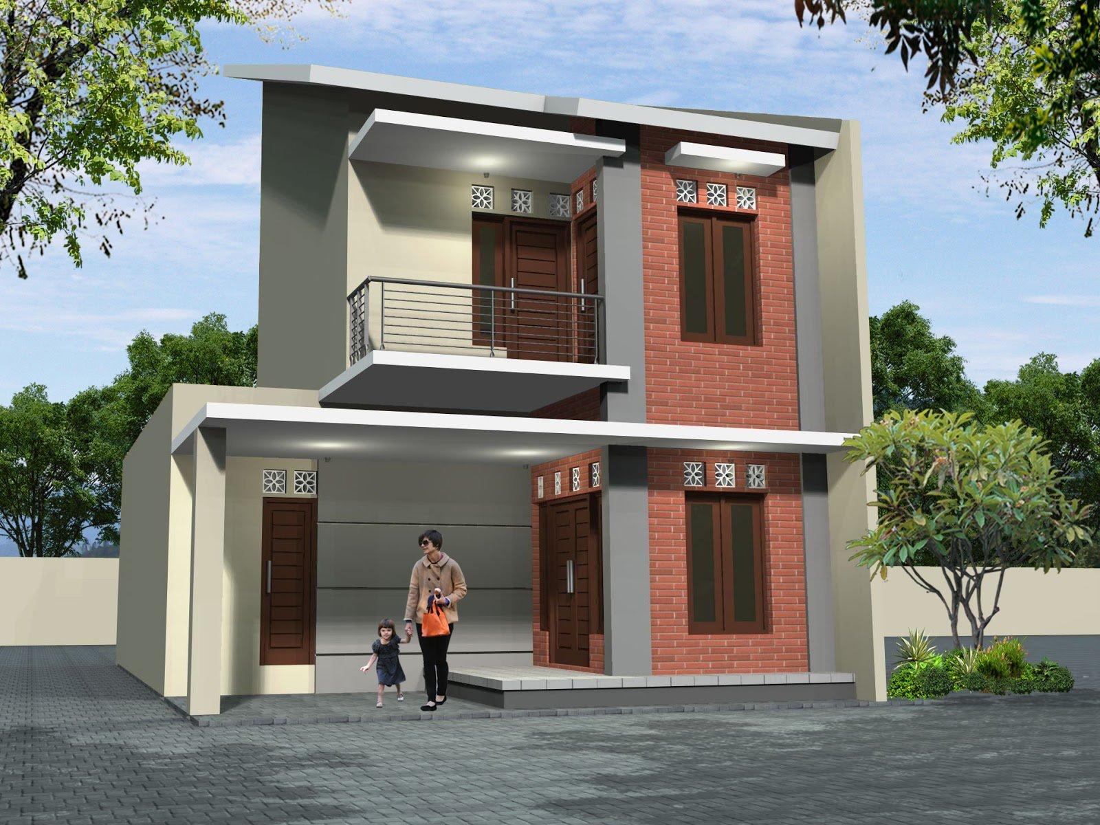 Desain Rumah Minimalis Tampak Depan Ruko Deagam Design