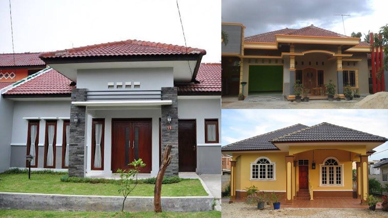 41 Foto Desain Rumah Modern Kampung Paling Populer di Dunia