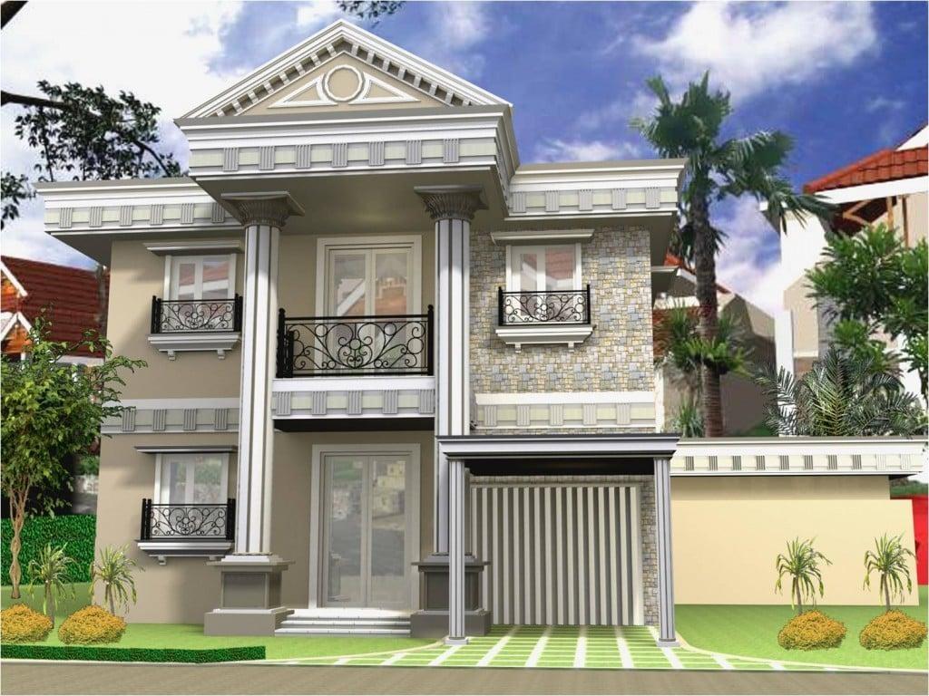41 Gambar Desain Rumah Bergaya Klasik Minimalis Kreatif Banget Deh