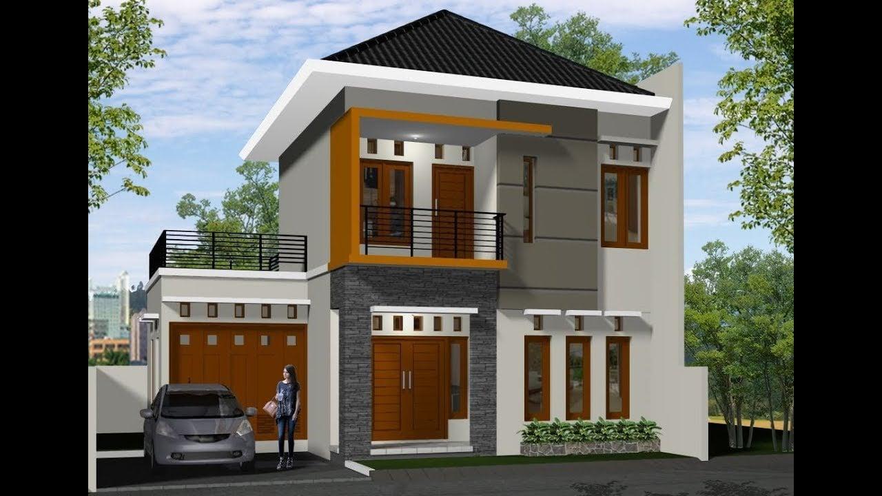 Desain Rumah Mewah Minimalis Modern 2 Lantai Ayo Desain Rumahmu