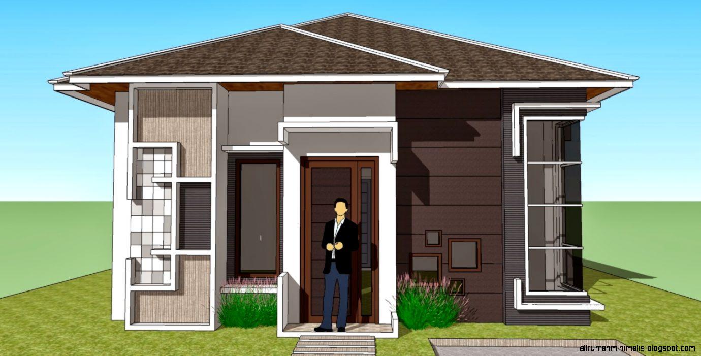43 Arsitektur Desain Rumah Modern Kampung Terbaik Masa Kini