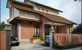 43 Trend Desain Rumah Modern Kampung Paling Banyak di Cari