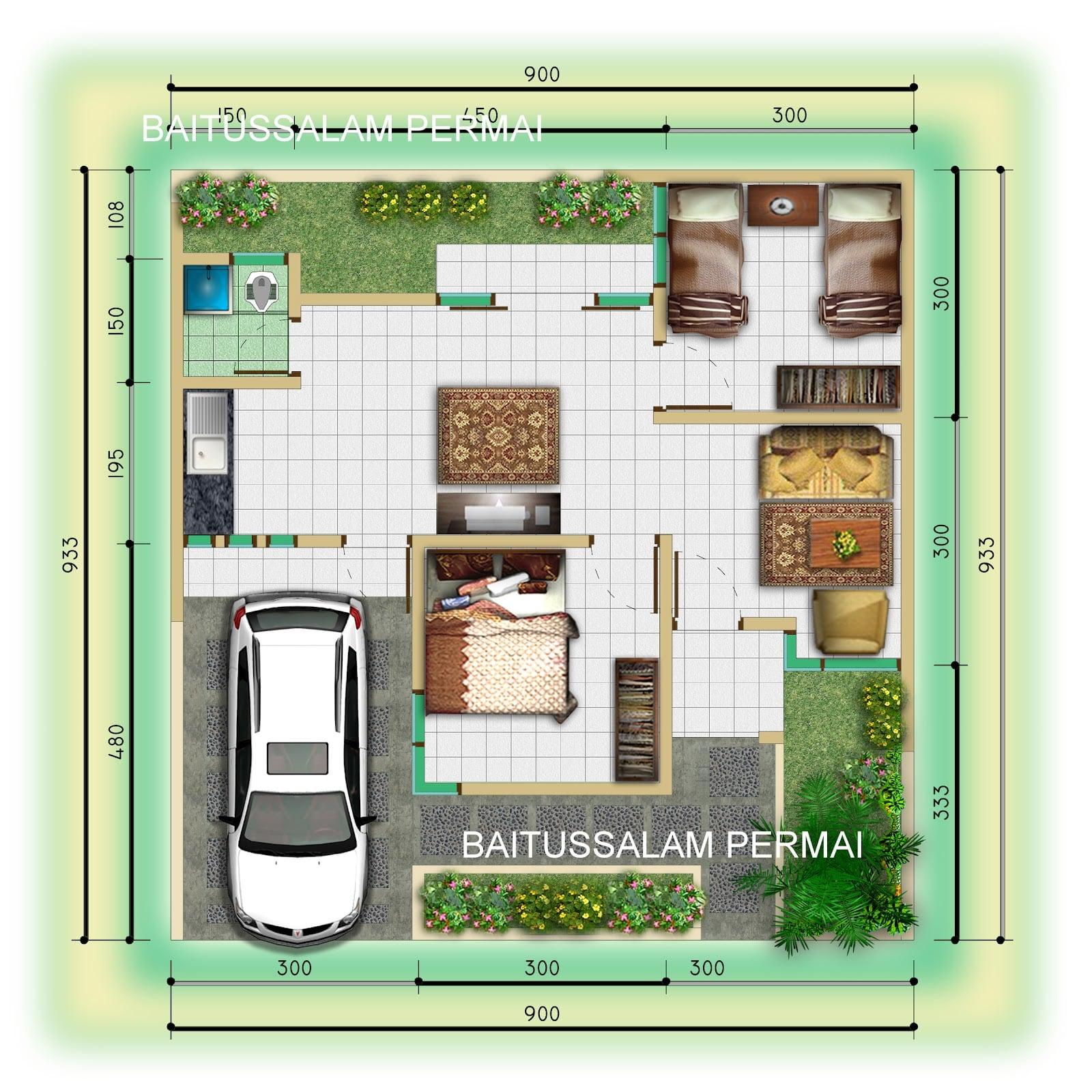 45 Gambar Desain Rumah Lebar 9 Meter Terbaru dan Terlengkap