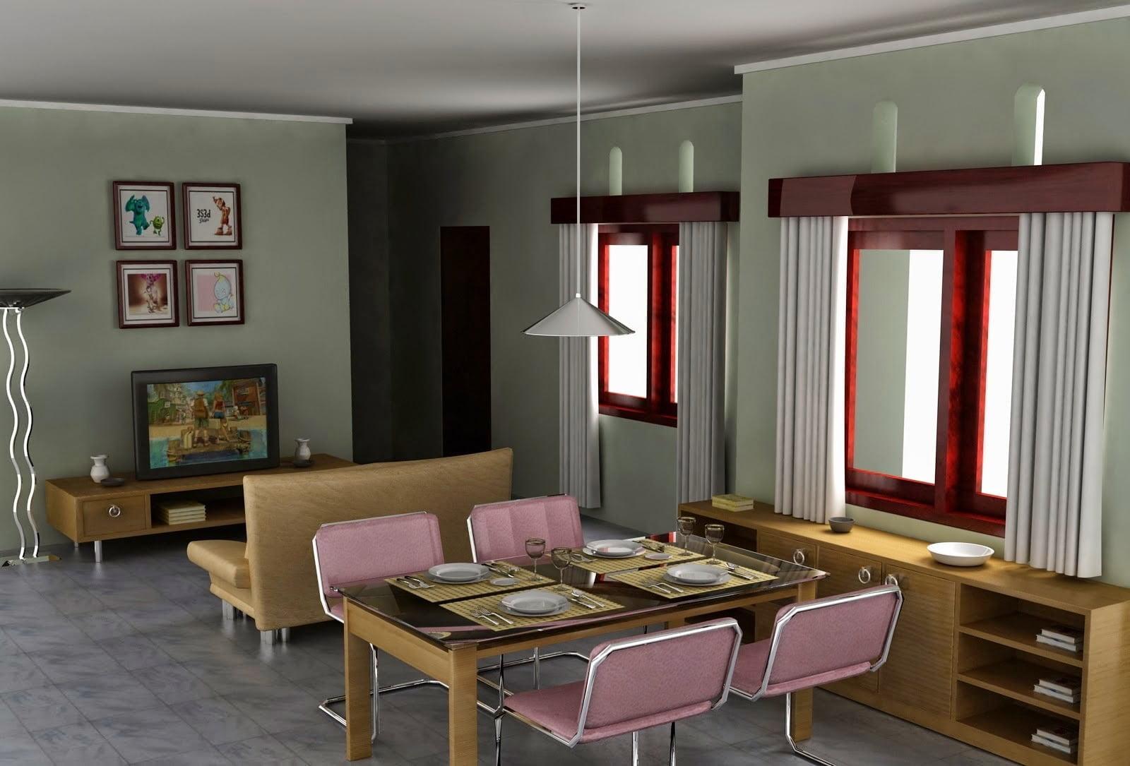46 Model Desain Ruang Rumah Minimalis Sederhana Paling Populer Di Dunia Deagam Design