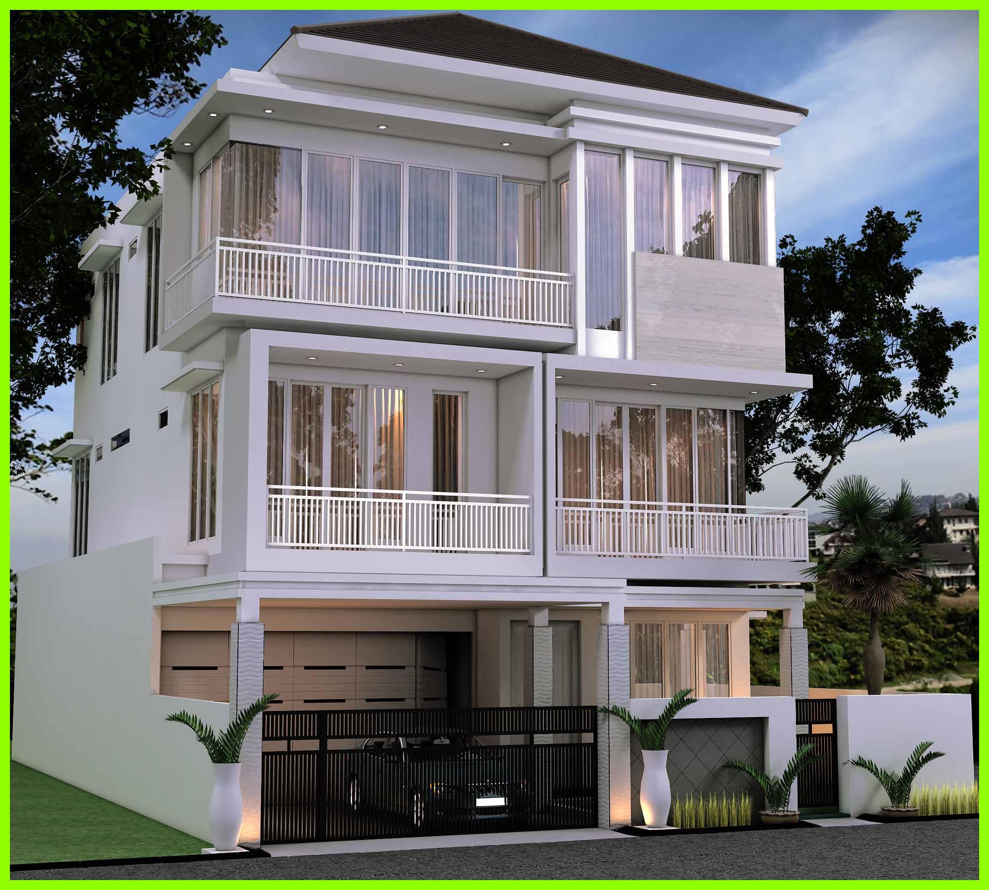 Desain Rumah Minimalis Modern Lantai 2 Terbaru 2020 Deagam Design