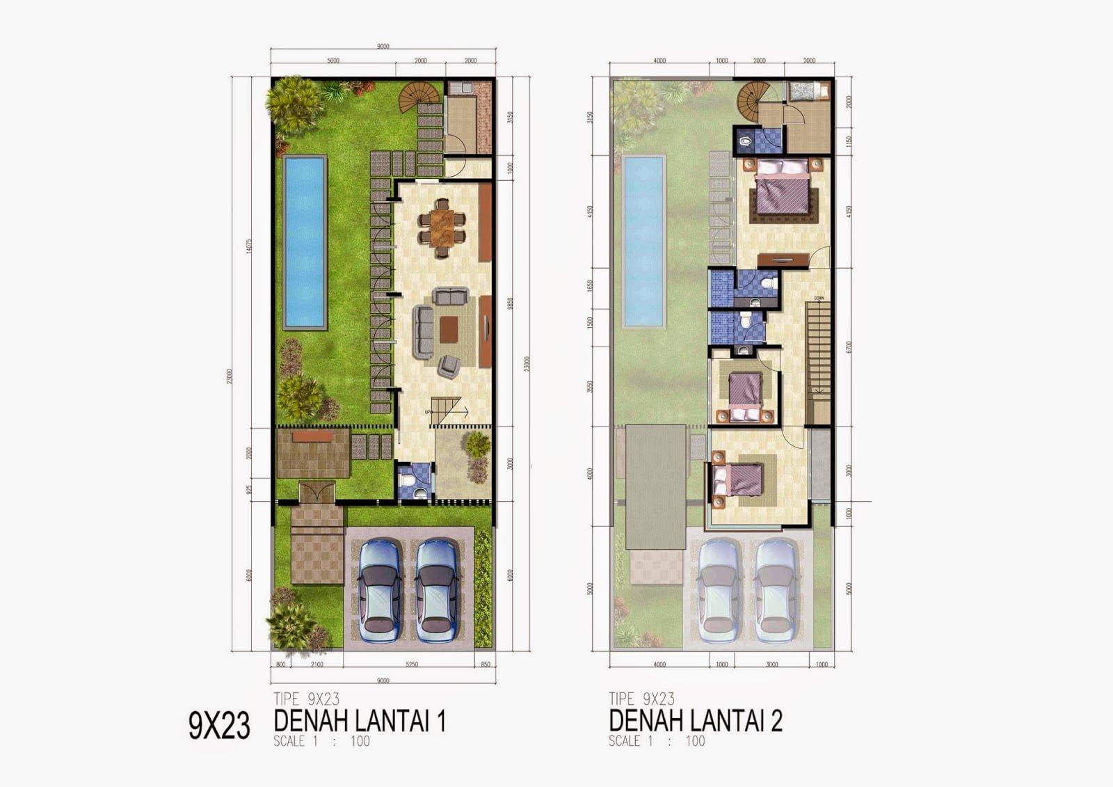 980 Desain Rumah Minimalis Ada Kolam Renang HD Terbaru