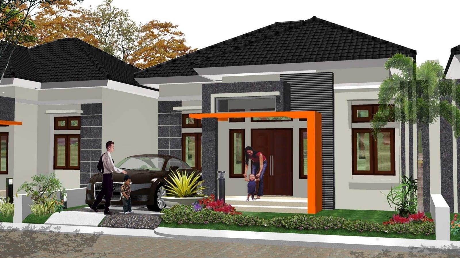 48 Trend Desain Model Rumah Minimalis Tampak Depan 1 Lantai Yang Wajib Kamu Ketahui