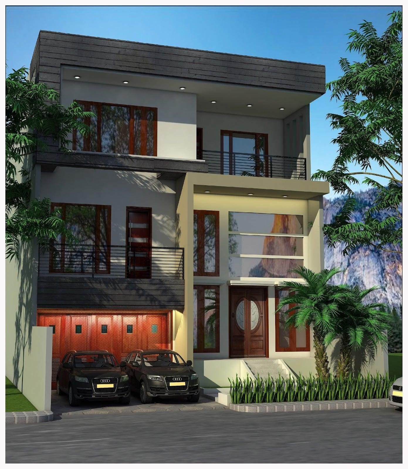 49 Foto Desain Rumah 3 Lantai Minimalis Modern Paling ...