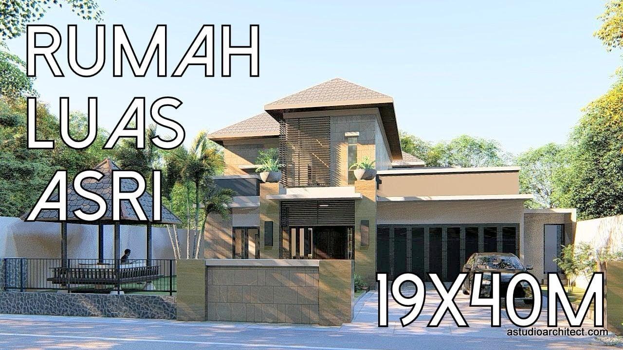 49 Macam Desain Rumah Mewah Minimalis Halaman Luas Kreatif Banget Deh Deagam Design