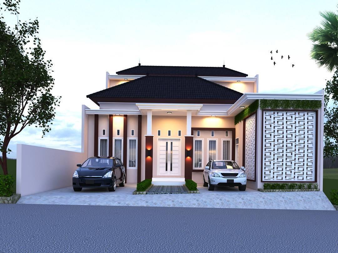 50 Ragam Desain Model Rumah Minimalis Modern Terbaru 1 Lantai Paling Banyak di Cari