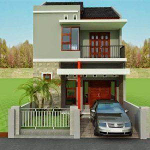 51 macam desain rumah minimalis 2 lantai sederhana ukuran