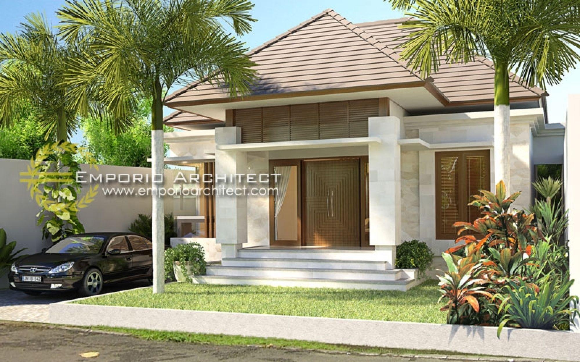 52 Gambar Desain Rumah Bali Modern Sederhana Paling ...