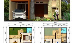 Desain Fasad Rumah Minimalis 2 Lantai Type 36 - Deagam Design