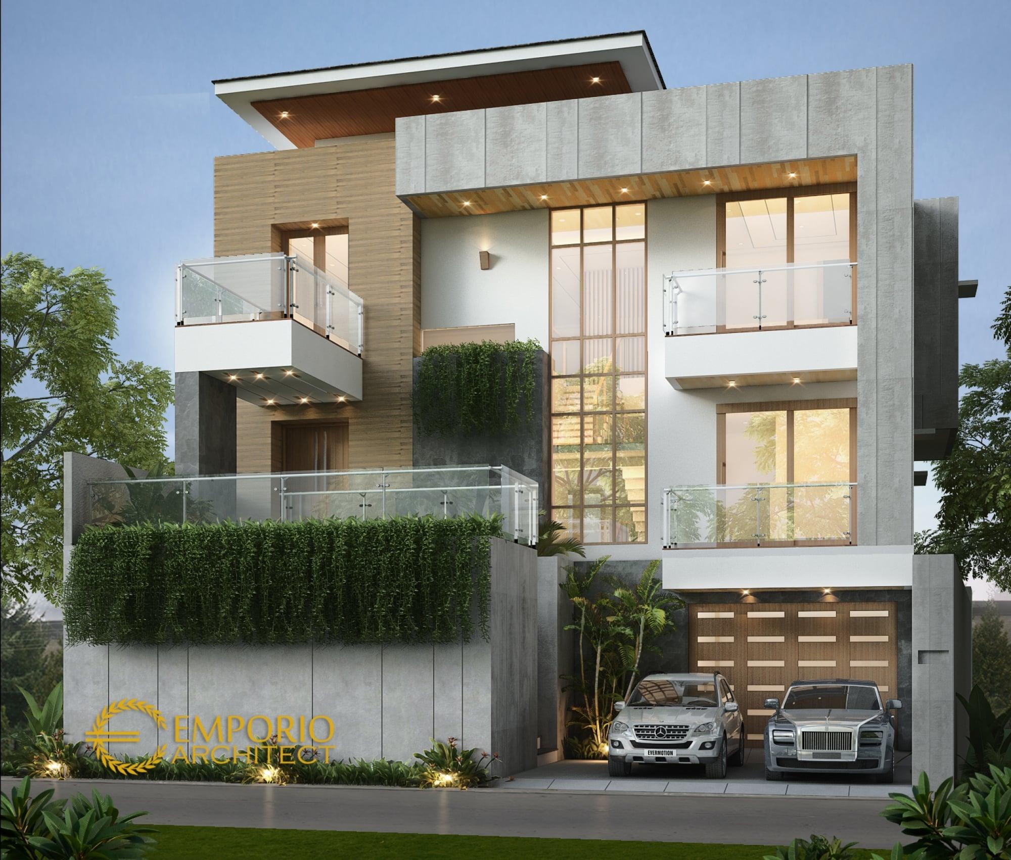 54 Contoh Desain Rumah Kontemporer Kaca Istimewa Banget ...