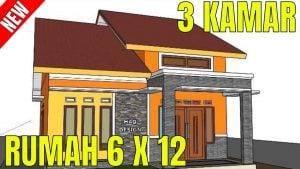 54 foto desain rumah minimalis tampak depan ukuran 6 meter